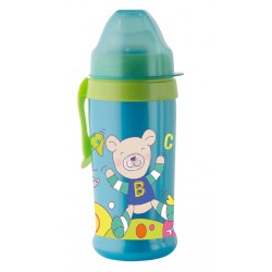 Pahar cu supapa silicon CoolFrends Aqua 360ml.10L+ Rotho-babydesign