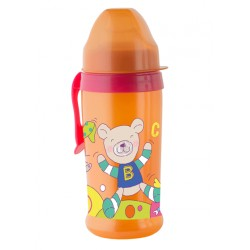 Pahar cu supapa silicon CoolFrends Raspberry 360ml.10L+ Rotho-babydesign