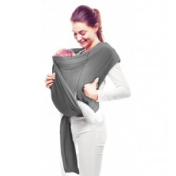 Marsupiu ergonomic wrap Balance grey Wallaboo